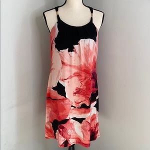 White House Black Market black and red dress - M